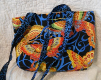 Bright Butterfly Purse