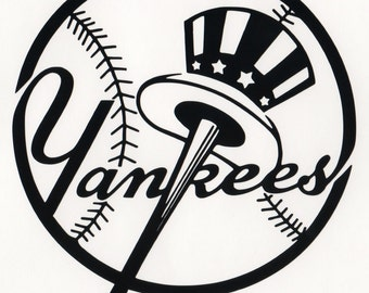 New York Yankees  decal  free shipping