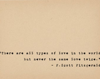 Quotes About Love 1920s : Quote - Literary Art Quote Print - 1920s Flapper Writer Quote ...