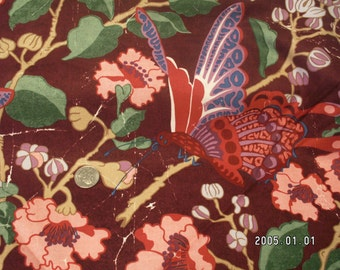 Butterfly fabric free spirit