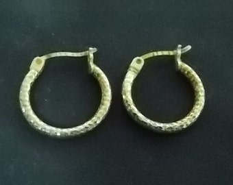 Vintage Antique Pair .925 Sterling Silver Earrings, 1.46g #E988