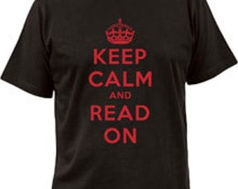 T-shirt - Keep Calm and Read On