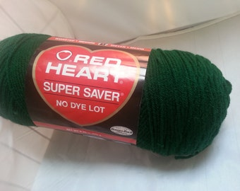 Red Heart Super Saver Yarn 8 oz
