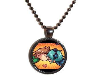 Scott & Ramona Kisses Necklace - Made to Order