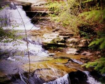 Hocking Hills Waterfall Art Photography