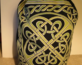 Green Celtic Knot Backpack