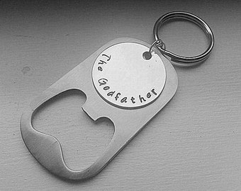 items similar to godfather gift godfather keychain communion gifts personalized keychain. Black Bedroom Furniture Sets. Home Design Ideas