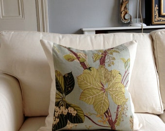 Accent cushion with Liberty fabric front