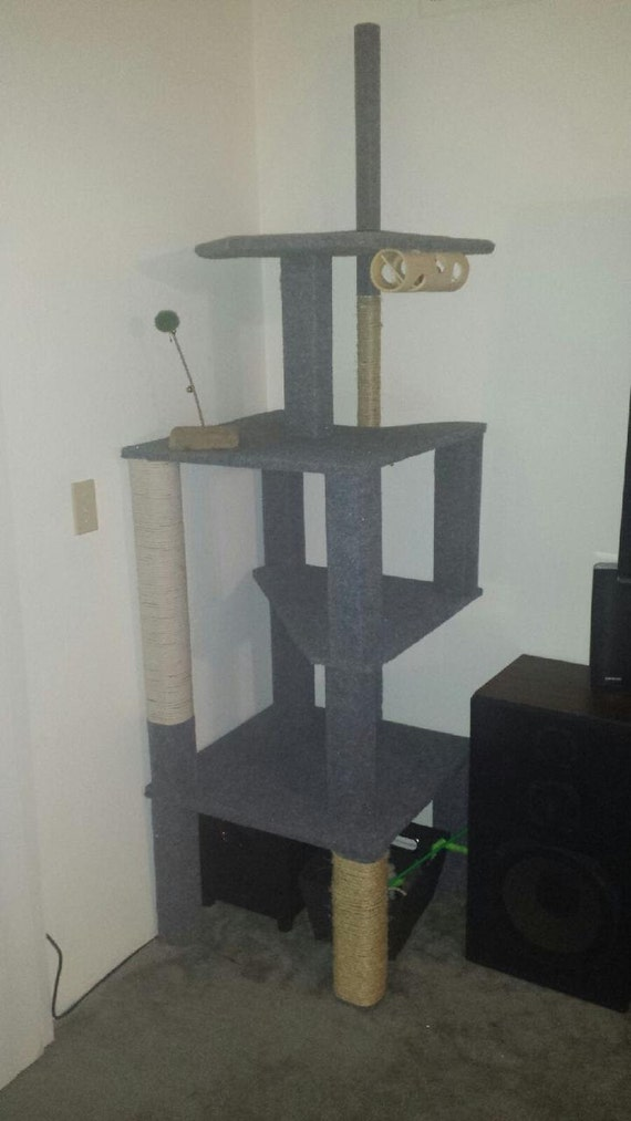 items similar to 7 foot tall cat tree on etsy