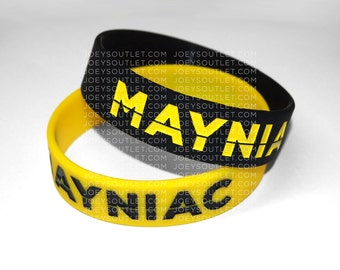 1 SINGLE MAYNIAC Conor Maynard Bracelet Wristband WIDE