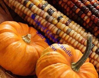 Decorative Ceramic Tile Sublimation - Fall_0026 - Pumpkins and corn