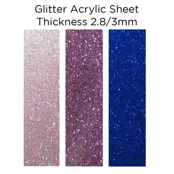 sparkle glitter plastic sheet 300mm x 300mm laser cutting. Black Bedroom Furniture Sets. Home Design Ideas