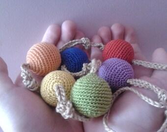 Baby toy/Nursing Toy/Teething Toy/Breastfeeding/Bio toy/Eco toy/Organic cotton 100%/for Crib and Stroller/