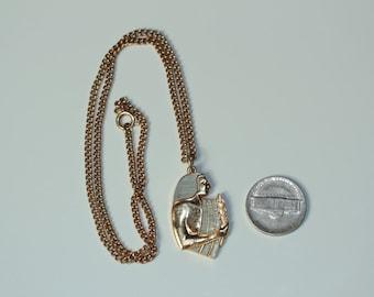 Vintage Virgo Necklace