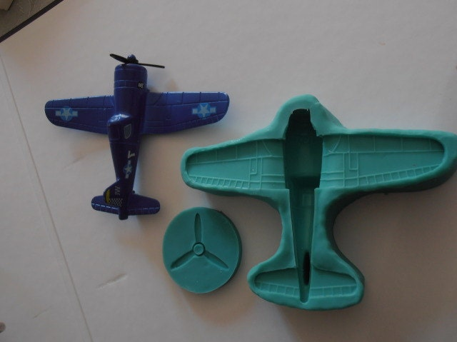 Silicone Mould 3d Airplane Cake Decorating Fondant Fimo Mold