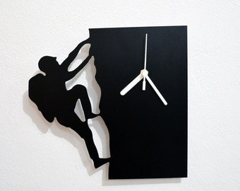Climber Silhouette - Wall Clock