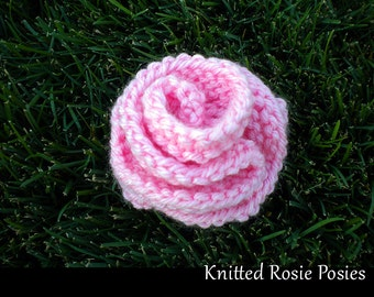 Knitted Rosie Posies Knitting Pattern