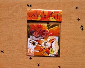 Orange Collage Kit