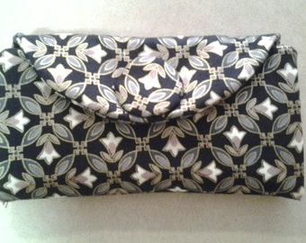 Black and White Geometric - Wallet - W101