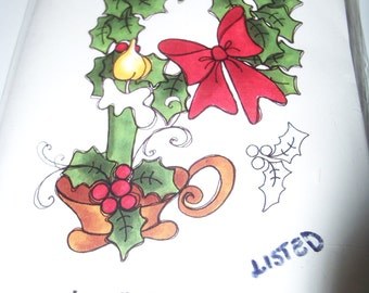 Loralie Art Stamps New Christmas 1
