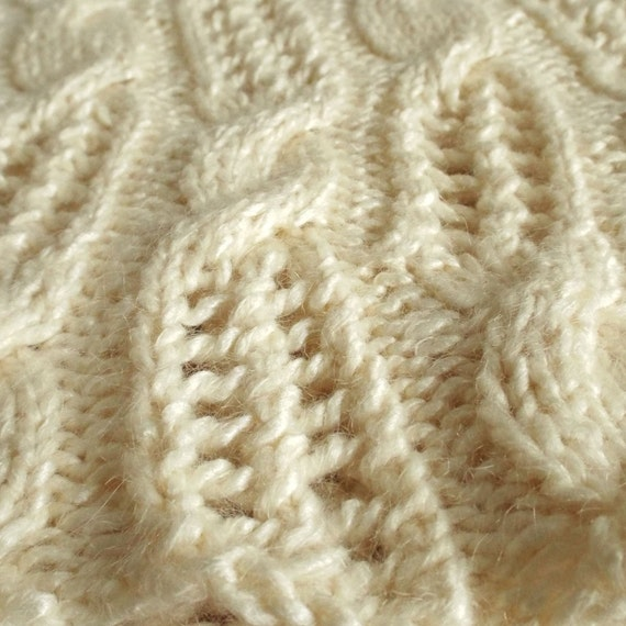 Meandering Twist - Cable design Cowl / Infinity Scarf ...