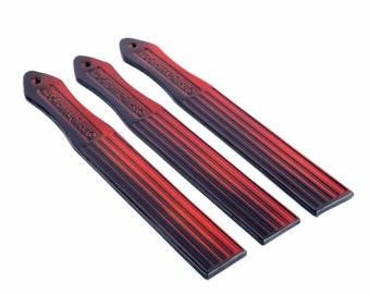 Leather Paddle. Leather Spanking Paddle. BDSM Paddle. Handmade Striped Paddle. Over 18's Leather BDSM Paddle Spankers Paddle. Over 18's only