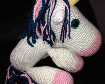 Cute Crochet Unicorn Pattern