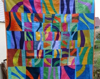 "Handmade quilt ""like life"""
