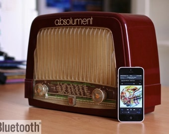 Vintage Philips Radio 1952 - Bluetooth (40W)