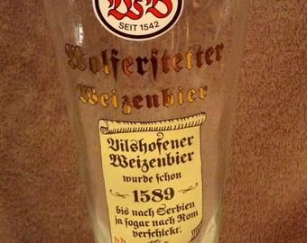 Wolferstetter Weizenbier Pint Glass