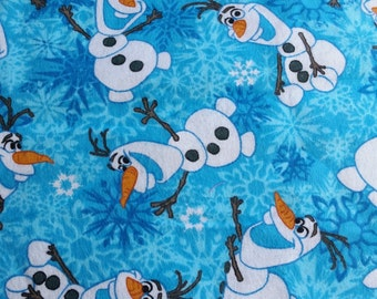 Disney Frozen Fabric Olaf Flannel