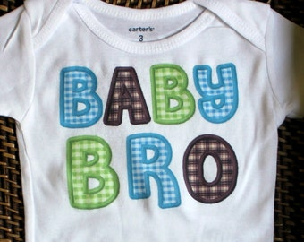 Little brother bodysuit or toddler shirt