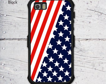 American National Flag iPhone 5/5S Waterproof Sublimation Cover