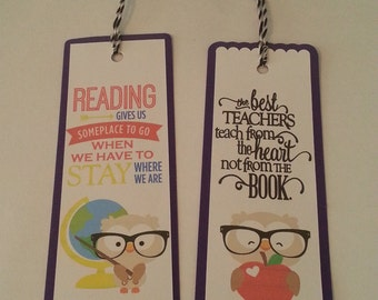 Smart Owl Bookmarks