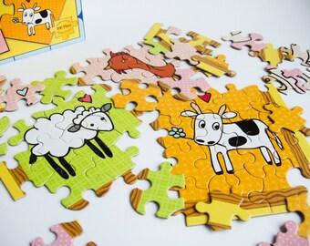 Fantastic Farmyard | 100 PC Jigsaw Puzzle | Artwork by Mark Poulin