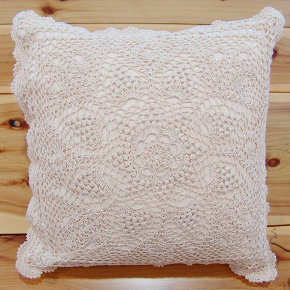 Hand Crochet Lace Cushion Cover Throw Pillow Cover Table : il570xN646900761hfck from www.etsy.com size 570 x 570 jpeg 112kB