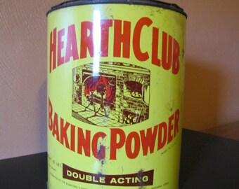 Vintage Hearth Club Baking Power Tin