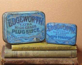 Two Vintage Edgeworth Tobacco Tins