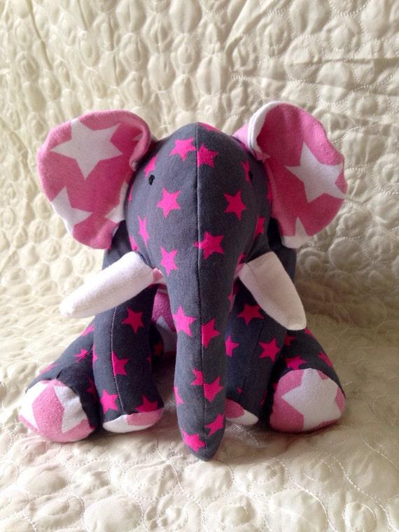 Handmade Memory Bear Keepsake Elephant