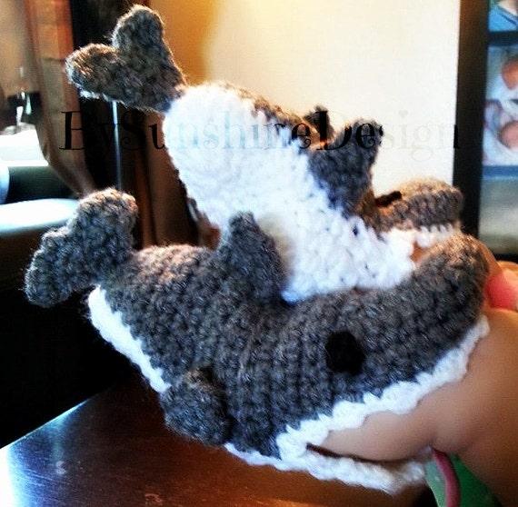 Crochet Pattern For Baby Shark Booties : Crochet Shark booties