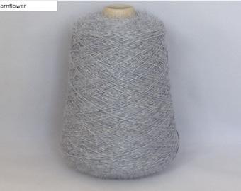 100% Superfine Alpaca 4 ply - min. 450g cone