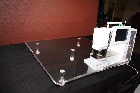 bernina plexiglass extension table 187 home design 2017