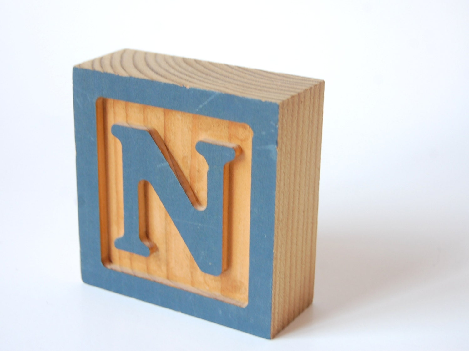 block letter n vintage wooden letter block n abc alphabet wooden by 223