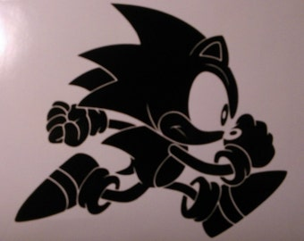 Running Sonic the Hedgehog Decal