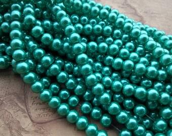100pcs 8mm Round Polychrome Plastic Sphere Beads Charms Pendant Bead