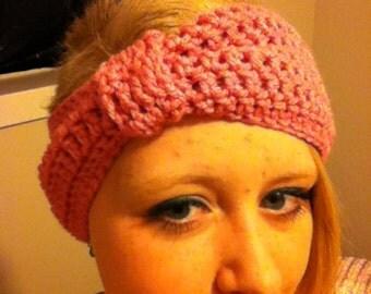 Bow-Style Crochet Head Warmer