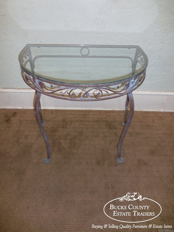 Salterini Vintage Wrought Iron Table