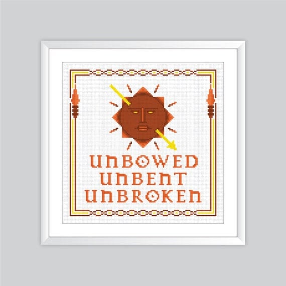 Game Of Thrones House Martell Crest Cross Stitch Pattern