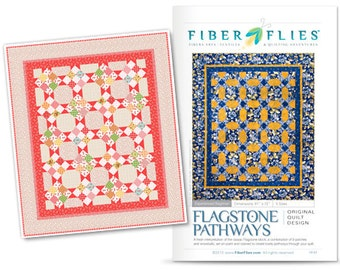 Flagstone Pathways quilt pattern