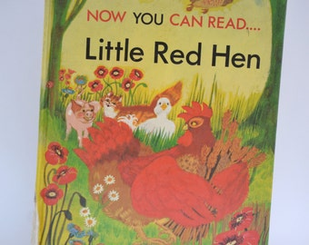 Little Red Hen Now you can read 1985 by Kincaid, Lucy Adapt Childrens Book